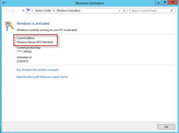 ativador windows server 2012