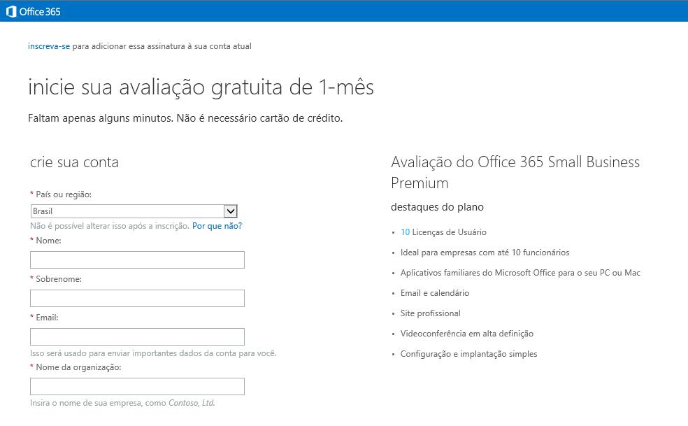 Avaliando o Office 365 Small Business Premium | Daniel Santos - MVP MCP MCSA MCSE MCTS MSBS