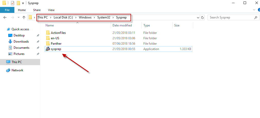Executando o Sysprep no Windows Server 2019 para clonar a